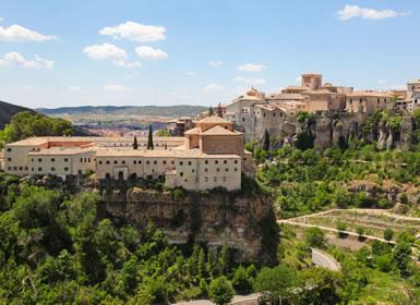 Centro de España: Cuenca, Alcalá de Henares, Toledo, Ávila y Segovia, Ciudades Patrimonio de la Humanidad