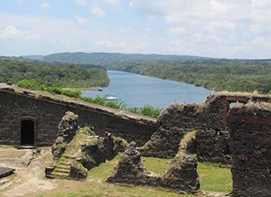 Panamá: Ciudad de Panamá, Río Chagres y Portobello