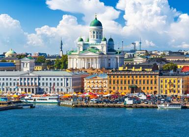 Norte de Europa: Oslo, Estocolmo y Helsinki