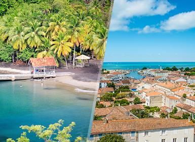 Antillas Francesas: Matinica e Isla de San Martín