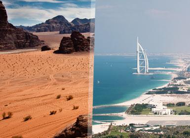 Esencias de Jordania y Dubai