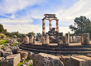 Grecia: Atenas, Olimpia, Delfos y Meteora