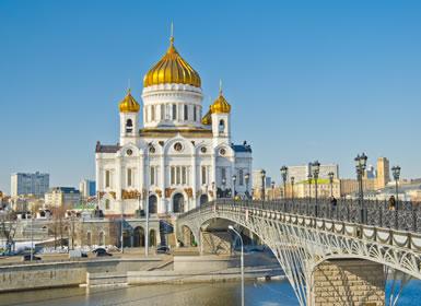 Rusia: Moscú y San Petersburgo tren diurno