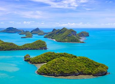 Tailandia: Naturaleza Norte y Koh Samui