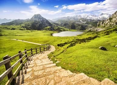 Norte y Centro de España: Asturias y Cantabria con Madrid y Toledo