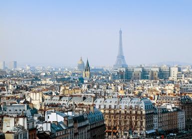 Inglaterra y Sur de Europa: Londres, París y Roma en avión
