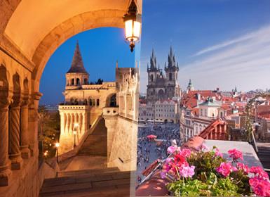 Centroeuropa: Praga, Budapest y Viena en bus