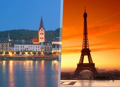París, Países Bajos y Crucero por el Rhin A Fondo