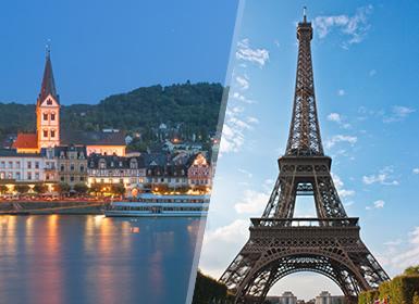 Combinado: París, Países Bajos y Rhin