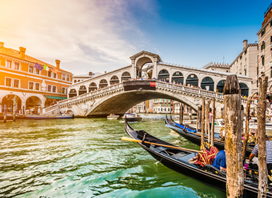 Italia: Roma, Florencia y Venecia en tren
