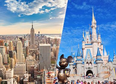 Nueva York y Walt Disney World Orlando Esencial A Tu Aire
