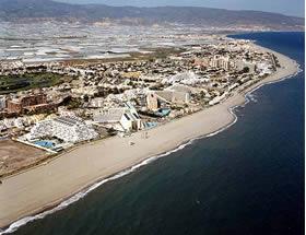 Playa Urbanizaci�n Roquetas de Mar