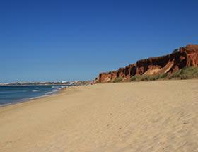 Playa de Rocha Baixinha Leste
