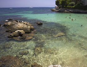 Playa de Buguenvi�.lia