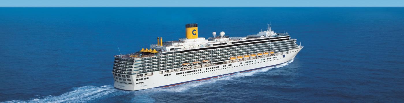 Itinerarios y precios costa luminosa costa cruceros for Costa deliziosa ponti