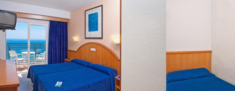 Hotel poseidon playa benidorm desde 40 logitravel for Habitacion familiar en alquiler