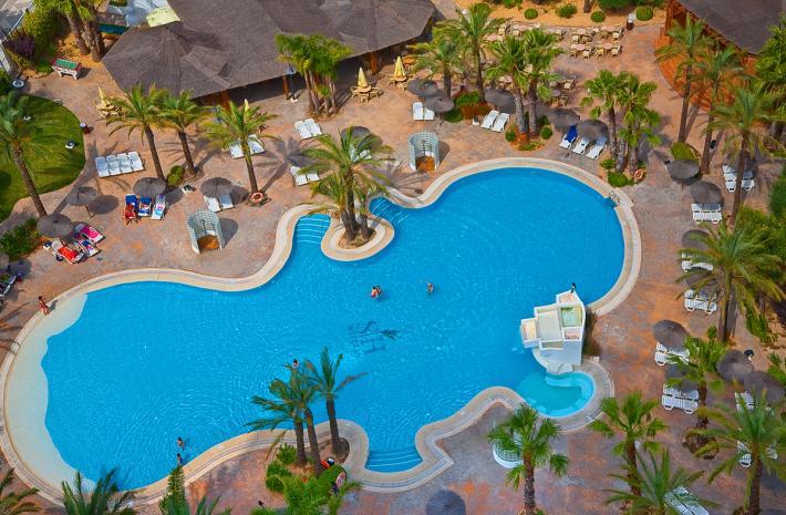 Hotel sh ifach en calpe costa blanca desde 32 for Piscinas calpe