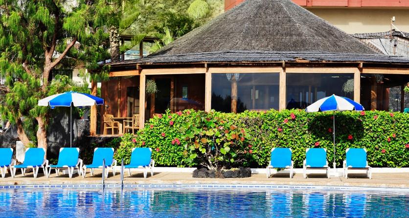 Hotel h10 taburiente playa playa de los cancajos desde 37 for Piscinas exteriores