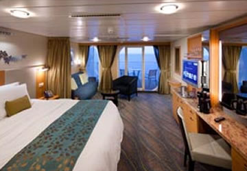Junior Suite Balc�n JS - Oasis of the Seas