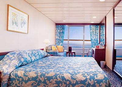 Cubierta deck 07 del barco ocean princess princess for Exterior vista obstruida