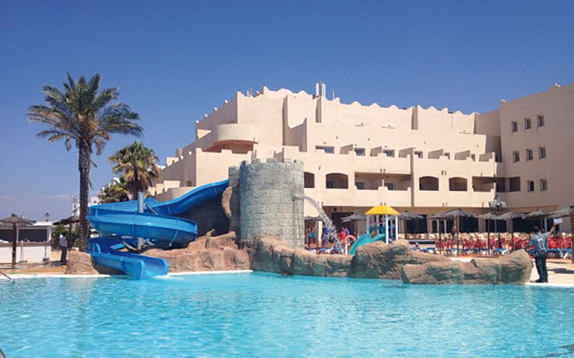 Hotel ath cabo de gata en cabo de gata almer a for Hoteles con piscina en almeria