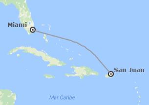 EEUU y Puerto Rico: Miami y San Juan