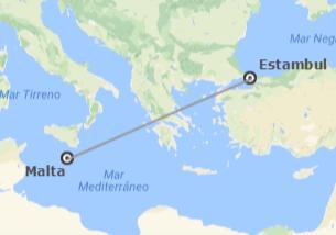 Turquía y Malta: Estambul y Malta en avión