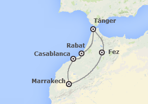 Marruecos: Ciudades Imperiales desde Tánger