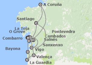 España y Portugal: Galicia y Norte de Portugal