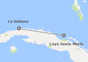 Cuba: Habana y Cayo Santa María