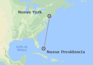 EEUU y Bahamas: Nueva York y Nueva Providencia
