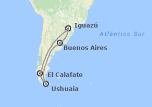 Argentina: Buenos Aires, Ushuaia, Calafate e Iguazú