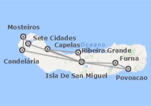 Portugal: Isla de San Miguel
