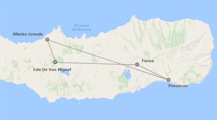 Portugal: Isla azoriana de San Miguel