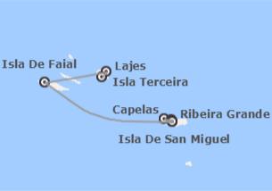 Portugal: San Miguel, Faial y Terceira