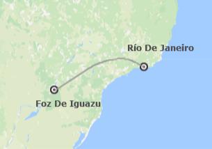 Brasil: Río de Janeiro e Iguazú