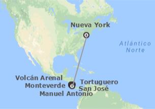 EEUU y Costa Rica: Nueva York y Costa Rica
