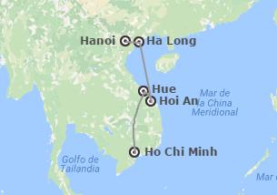Vietnam: Ruta Clásica