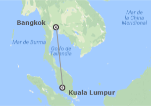 Tailandia y Malasia: Bangkok y Kuala Lumpur