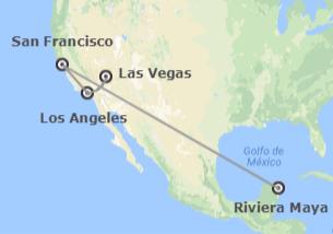 EEUU y México: Las Vegas, Los Ángeles, San Francisco y Riviera Maya