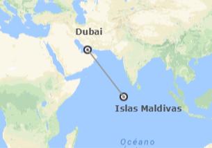 Emiratos e Islas del Índico: Dubái y Maldivas