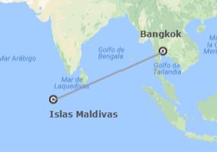 Tailandia e Islas del Índico: Bangkok y Maldivas
