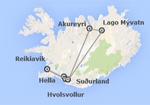 Islandia: Norte y Sur de Islandia