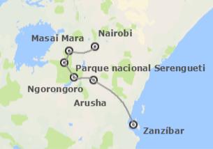 Kenia y Tanzania: Safari en Kenia, Tanzania y Zanzíbar