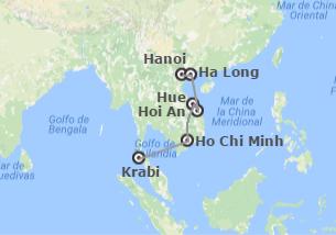 Vietnam y Tailandia: Vietnam y Krabi