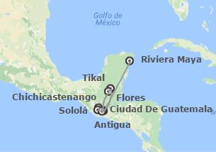 Guatemala y México: Guatemala y Riviera Maya