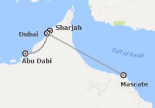 Omán y Emiratos: Muscat y Emiratos Árabes