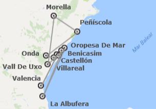 Comunidad Valenciana: Mediterráneo: Valencia y Castellón