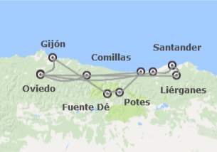 Norte de España: Cantabria, Asturias y Picos de Europa