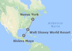 EEUU y México: Nueva York, Walt Disney World Orlando y Riviera Maya